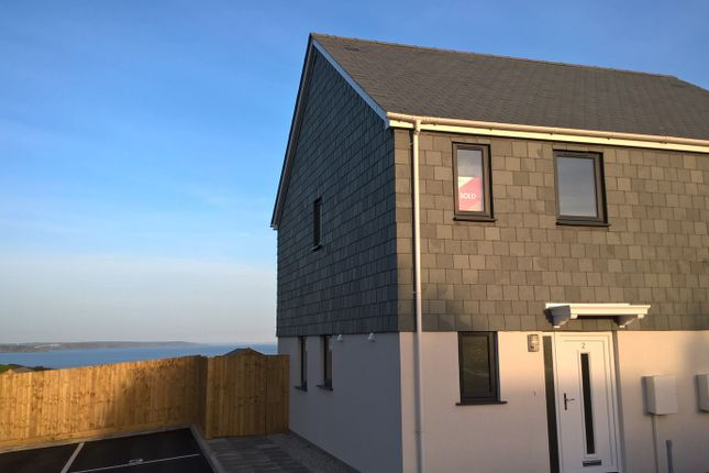 Thumbnail End terrace house for sale in School Hill, Mevagissey, Cornwall