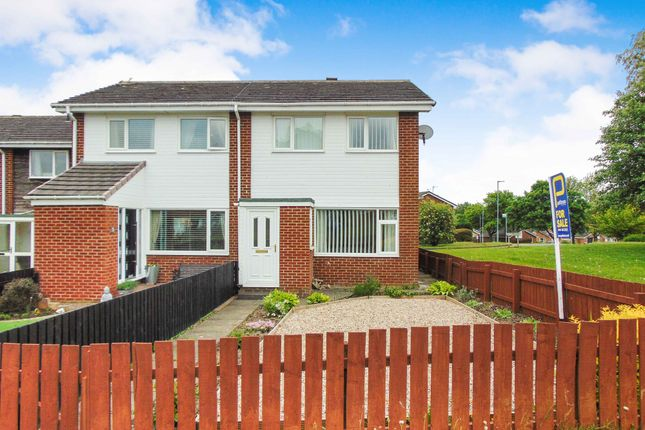 3 bed semi-detached house for sale in Chatton Close, Chester Le Street