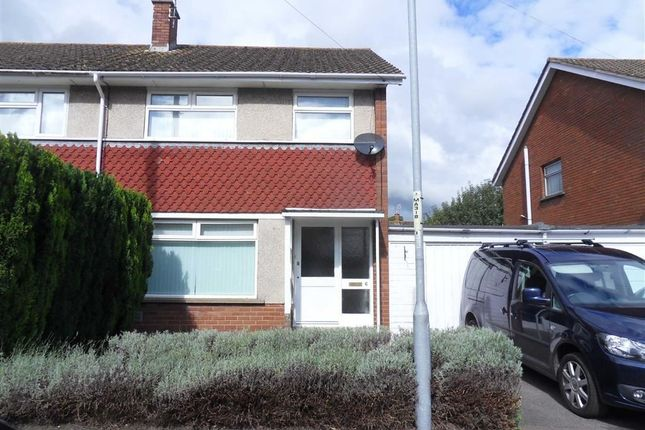 Thumbnail Semi-detached house to rent in Priory Gardens, Usk, Monmouthshire