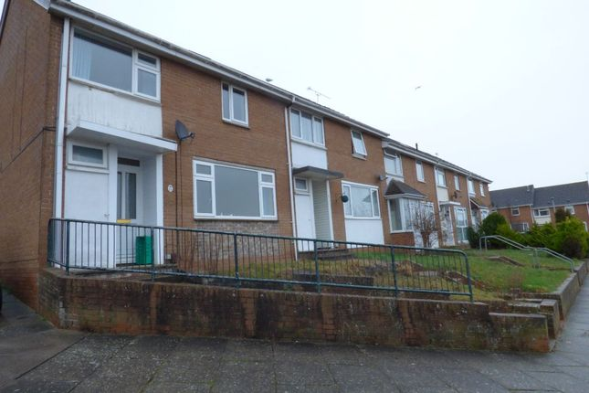 Thumbnail End terrace house to rent in Bridespring Road, Exeter