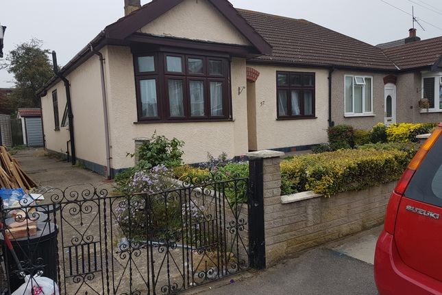 Thumbnail Semi-detached bungalow for sale in Bede Road, Chadwell Heath