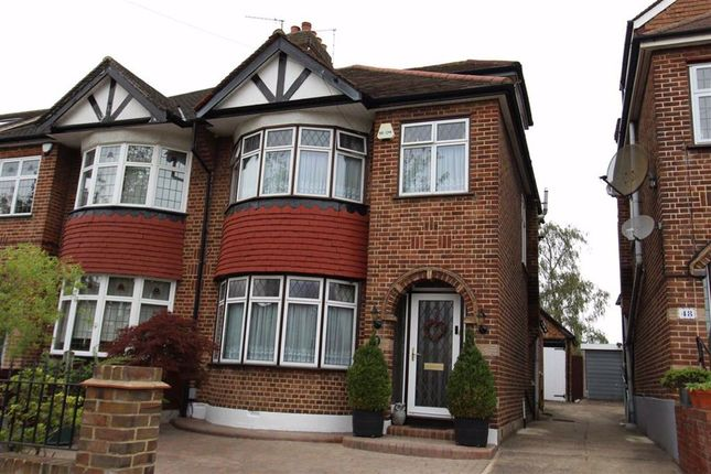 Thumbnail Semi-detached house for sale in Fairlight Avenue, North Chingford, London