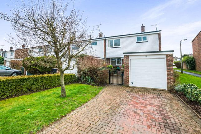Thumbnail End terrace house for sale in Ashcroft Court, Burnham, Slough