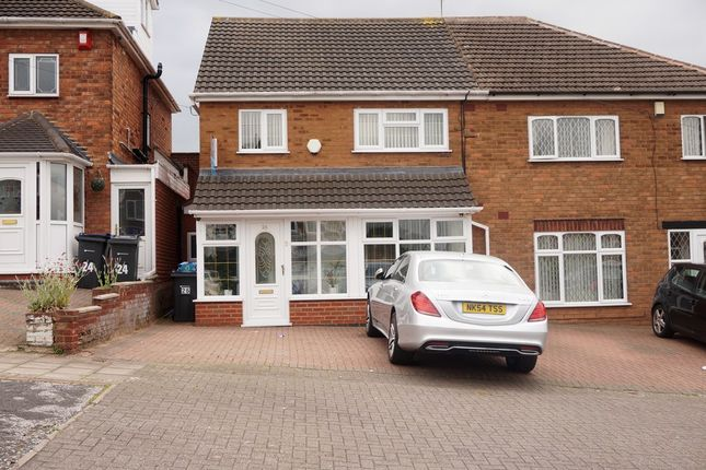 Thumbnail Semi-detached house for sale in Acfold Road, Handsworth Wood, Birmingham