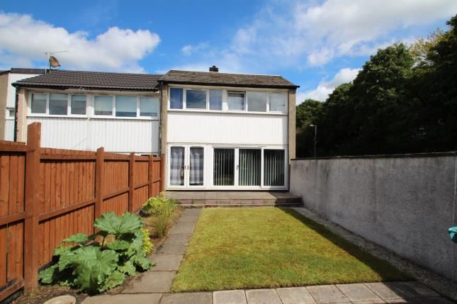 Thumbnail End terrace house for sale in Allanfauld Road, Seafar, Cumbernauld, North Lanarkshire