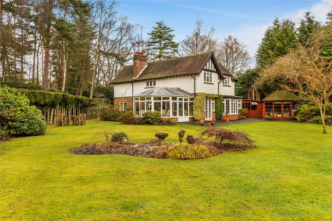 Thumbnail Detached house for sale in Worplesdon, Woking, Surrey