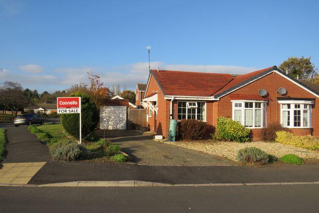 Thumbnail Semi-detached bungalow for sale in Hammerton Way, Wellesbourne, Warwick