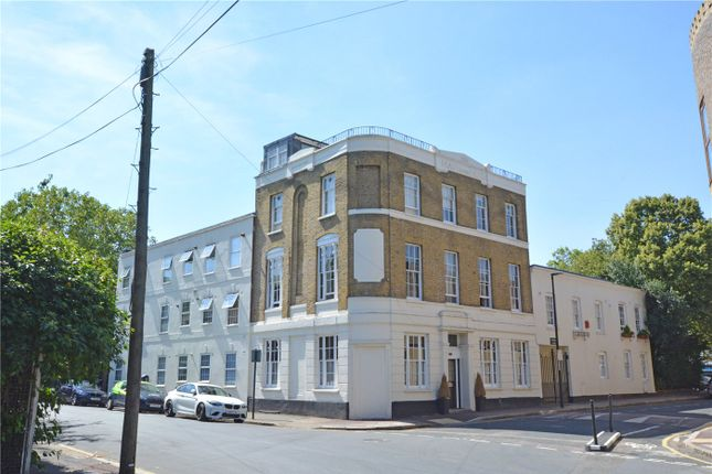 Exterior of Frobisher Court, 10 Old Woolwich Road, Greenwich, London SE10