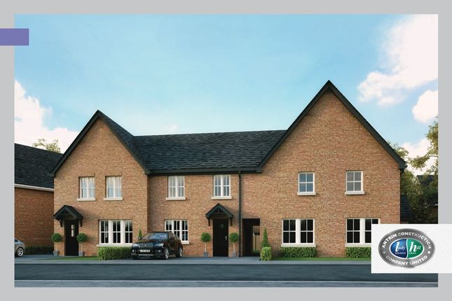 Thumbnail Terraced house for sale in Drumford Meadow, Kernan Hill Manor, Portadown