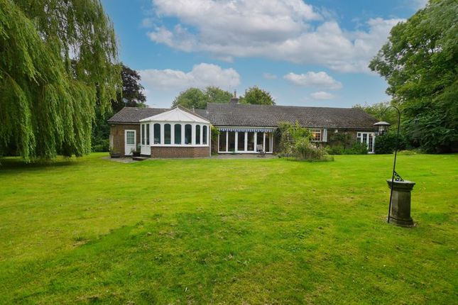 Thumbnail Detached bungalow for sale in Benson Road, Ewelme, Wallingford