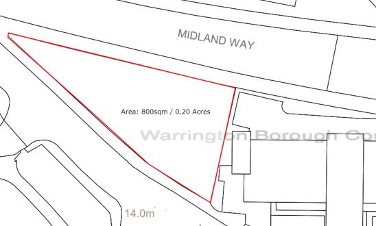 Thumbnail Land to let in Kendrick Street, Warrington