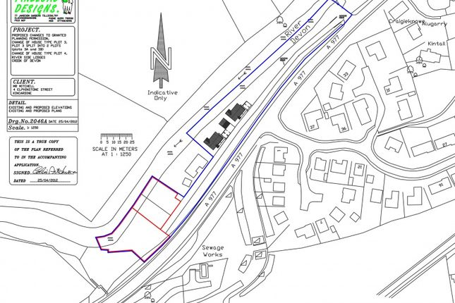 Thumbnail Land for sale in Main Street, Crook Of Devon, Kinross
