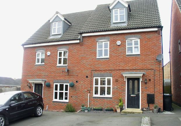 Thumbnail Semi-detached house for sale in Strutts Close, South Normanton, Alfreton