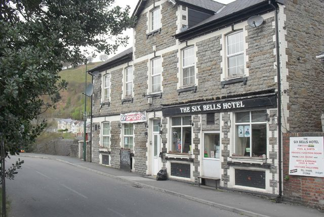 Thumbnail Pub/bar for sale in Victoria Road, Abertillery