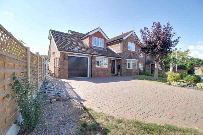 Thumbnail Detached house for sale in Hunters Close, Great Coates, Grimsby
