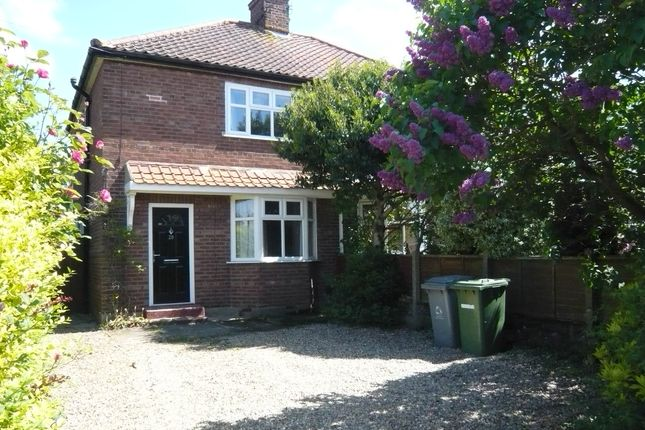 Thumbnail Semi-detached house for sale in Falcon Road East, Sprowston, Norwich
