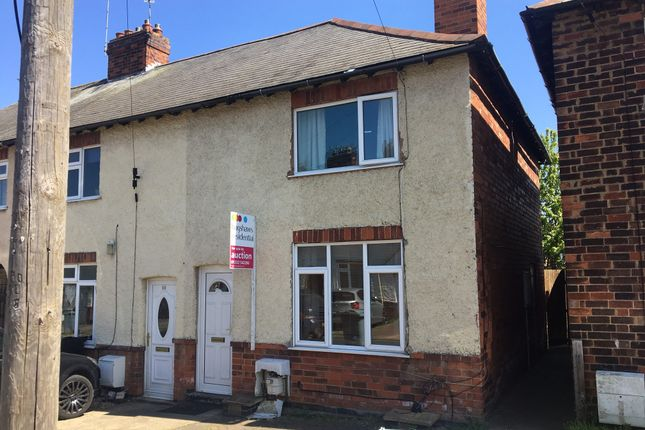 Thumbnail Town house for sale in Kingston Avenue, Grantham