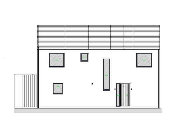 Front Elevation of Waterford Lane, Cherry Willingham, Lincoln LN3