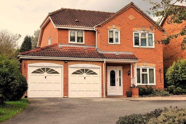 Thumbnail Detached house for sale in Chapmans Meadows, Ashby-De-La-Zouch