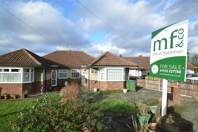 3 bed semi-detached bungalow for sale in Cromwell Close, Walton-On-Thames