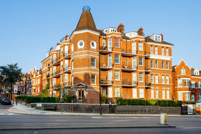 Exterior of Langland Mansions, 228 Finchley Road, Hampstead, London NW3