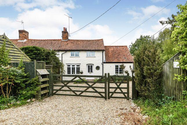 Thumbnail Semi-detached house for sale in Great Bircham, Kings Lynn, Norfolk
