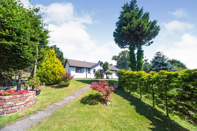 Thumbnail Detached bungalow for sale in Cae Bryn, Abertridwr, Caerphilly