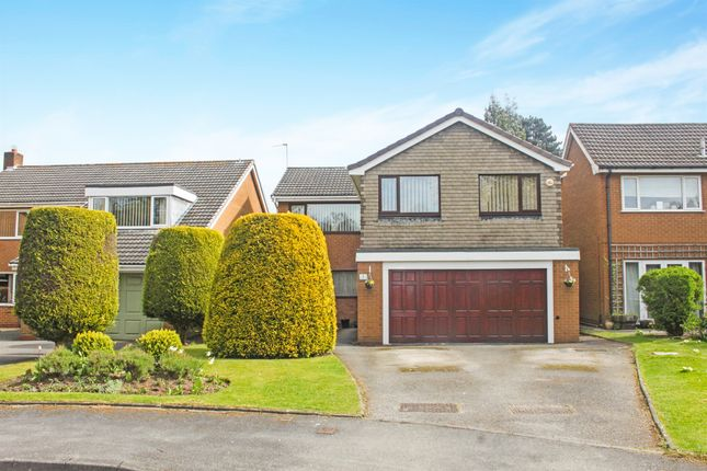 Thumbnail Detached house for sale in Monwood Grove, Solihull