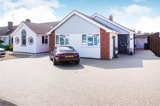 Thumbnail Detached bungalow for sale in Fontwell Road, Selsey, Chichester