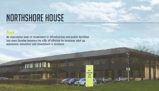 Thumbnail Office to let in Dundee Technology Park, Northshore House, Gateway, Dundee
