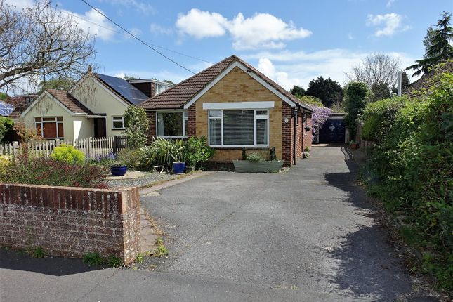Thumbnail Detached bungalow for sale in Ashleigh Close, Hythe, Southampton