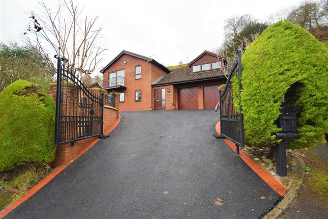 Thumbnail Detached house for sale in Fron Castell, Fron Bache, Llangollen