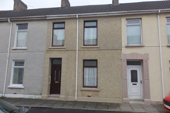 Thumbnail Terraced house for sale in Amos Street, Llanelli