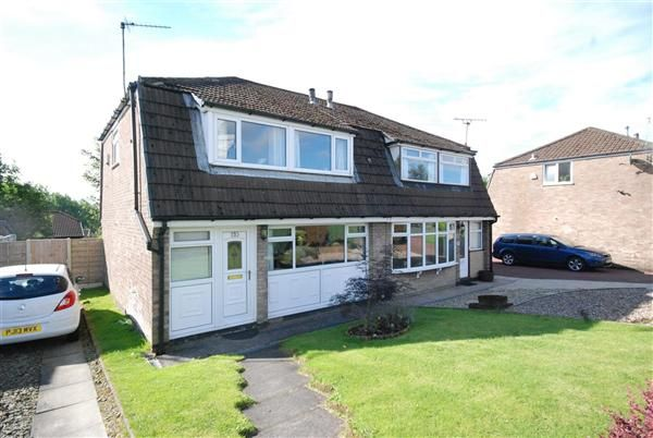 Thumbnail Semi-detached house for sale in Shawclough Way, Rochdale