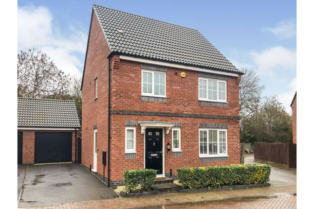 3 bed detached house for sale in Clarke Crescent, Countesthorpe, Leicester LE8
