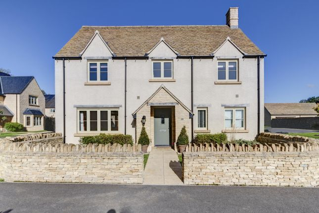 Thumbnail Detached house for sale in Chiffchaff Close, South Cerney, Gloucestershire
