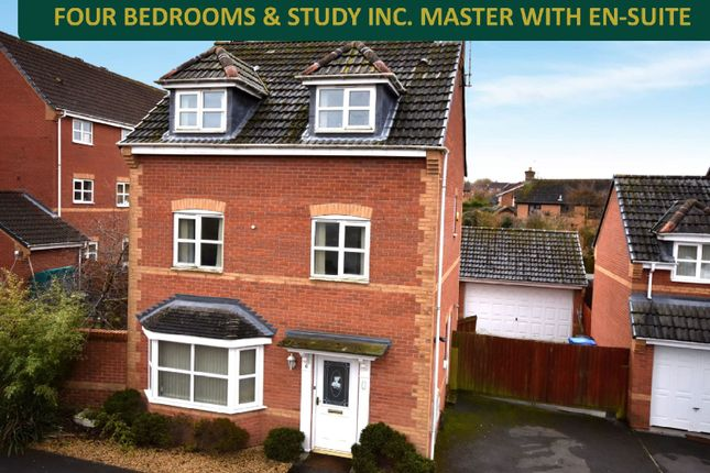 Detached house for sale in Bluebell Close, Oadby, Leicester
