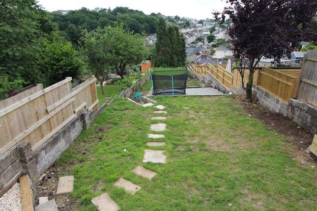 Rear Garden of Efford Crescent, Plymouth PL3