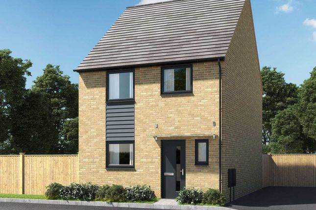 """Thumbnail Semi-detached house for sale in """"The Eveleigh"""" at Thorn Road, Houghton Regis, Dunstable"""