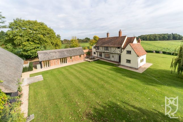 Thumbnail Detached house for sale in Stoke-By-Nayland, Wick Road, Colchester