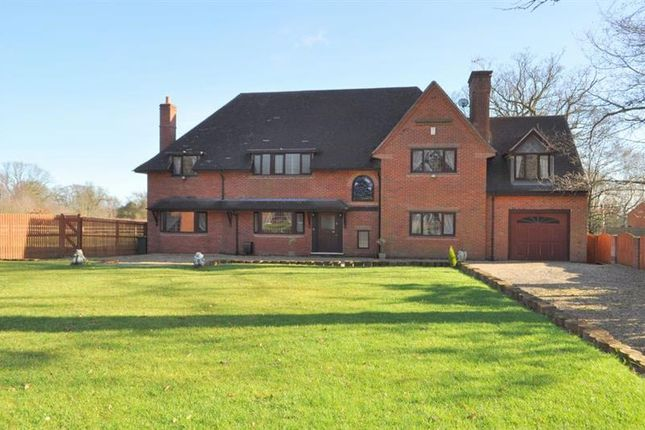 Thumbnail Detached house for sale in Linthurst Road, Blackwell, Bromsgrove