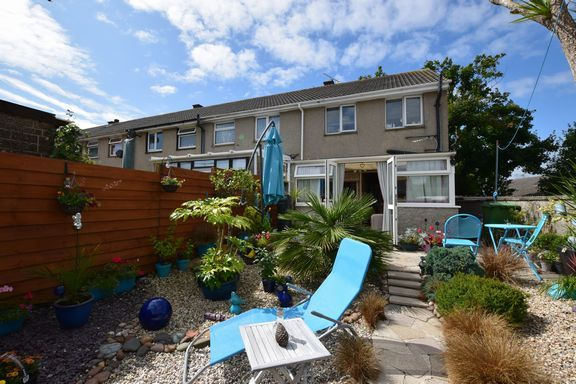 Thumbnail End terrace house for sale in Rosevean Close, Camborne