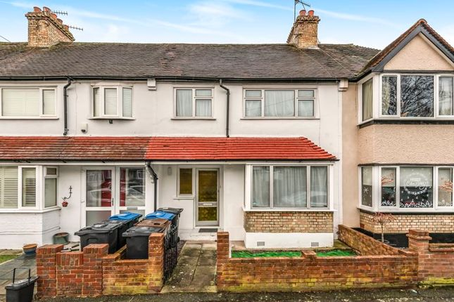 Thumbnail Terraced house to rent in Purley Vale, Purley