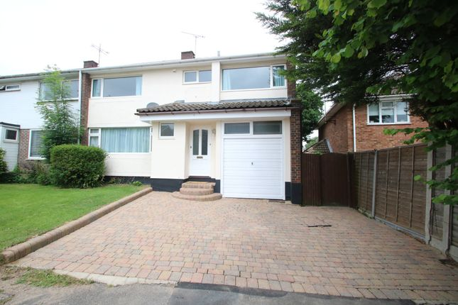 Thumbnail End terrace house for sale in Laburnum Close, Hockley