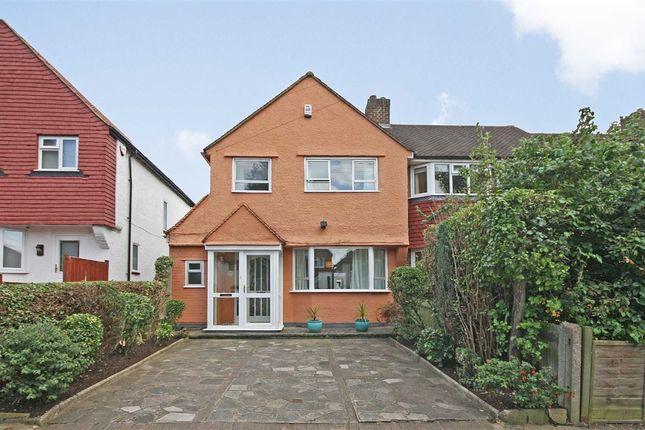 Thumbnail Semi-detached house for sale in Lisbon Avenue, Twickenham