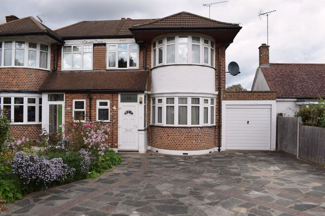 Thumbnail Semi-detached house for sale in Deane Croft Road, Eastcote, Pinner