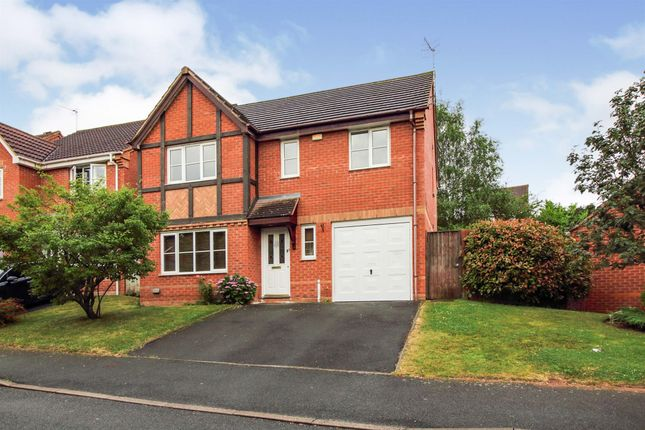Thumbnail Detached house for sale in Grosmont Avenue, Warndon, Worcester