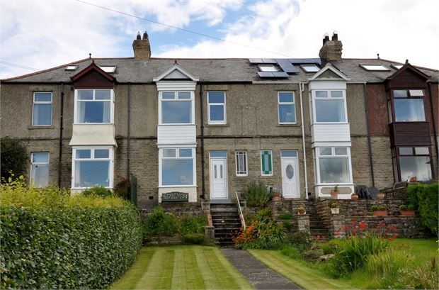Thumbnail Terraced house for sale in Allen View, Catton, Allendale, Northumberland.