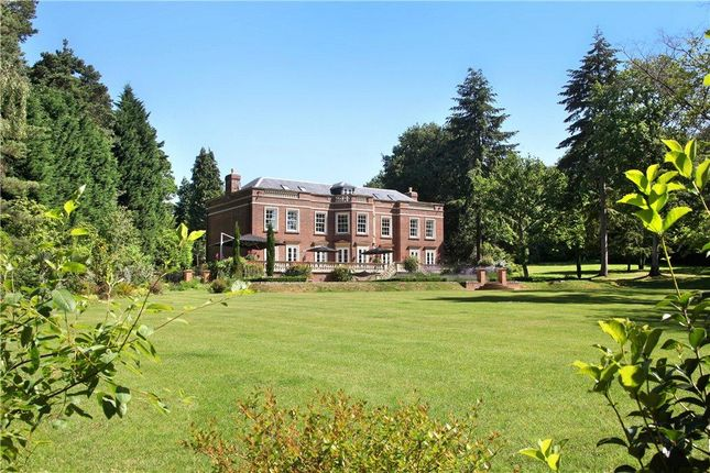 Thumbnail Detached house for sale in West Drive, Wentworth, Virginia Water, Surrey