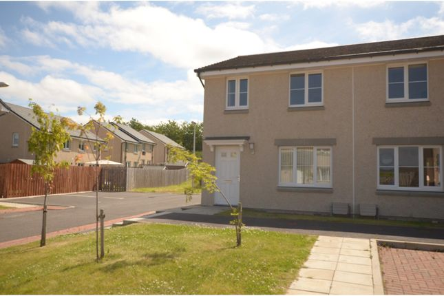 Thumbnail End terrace house for sale in Resaurie Gardens, Inverness